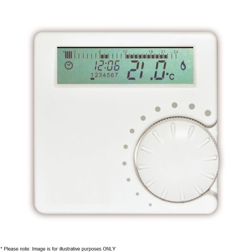 Vokera Wireless Rf 7 Day Programmable Room Thermostat