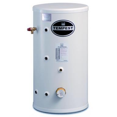 TELFORD TEMPEST 300 LITRE STAINLESS STEELDIRECT UNVENTED CYLINDER