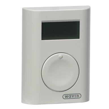 Hep2O Wireless Programmable Room Thermostat by Wavin