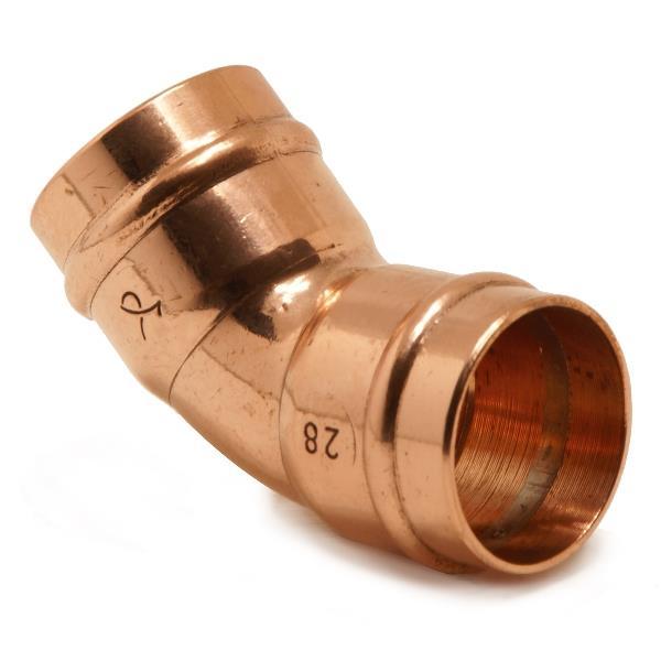 sr21 solder ring 45deg obtuse elbow 28mm. Black Bedroom Furniture Sets. Home Design Ideas