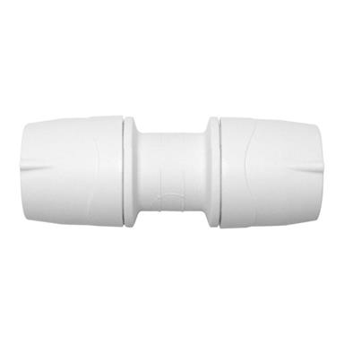 Polymax Pipe Straight Coupler 15mm MAX015