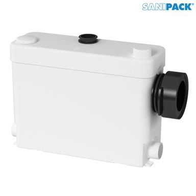 SANIFLO SaniPACK Domestic Macerator (Wall Hung WC + 3 Outlets), 1052