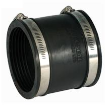 POLYPIPE Flexicon Flexible Rubber Drain Coupling 110-125mm, XDR125