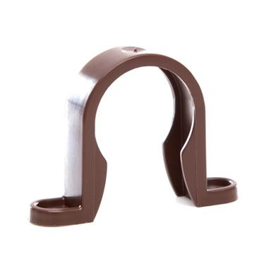 WP33 32MM PUSH-FIT CLIP BROWN