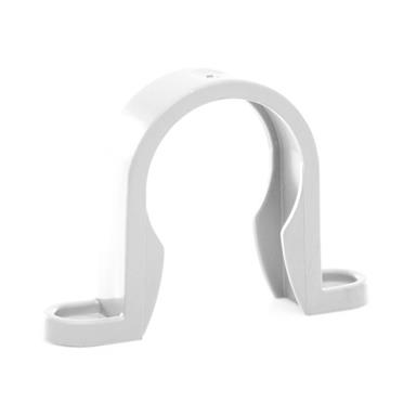 WP33 32MM PUSH-FIT CLIP WHITE