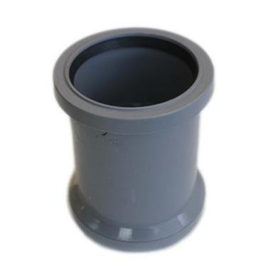 SH34 82MM POLYPIPE DOUBLE SOCKET GREY