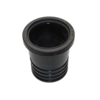 SD33 82MM POLYPIPE DRAIN CONNECTOR BLACK