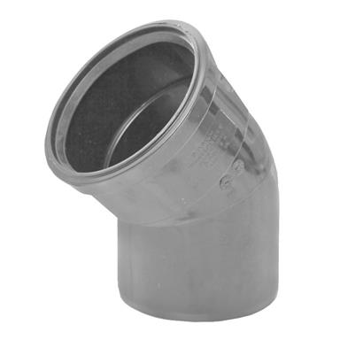 SB412 110MM POLYPIPE 135 DEGREE BEND GREY