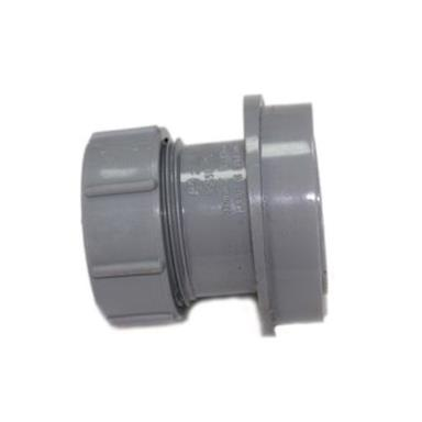 SN66 32MM POLYPIPE ANGLED BOSS ADAPTOR SOLVENT/COMP GREY