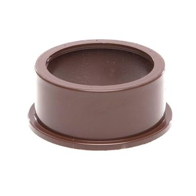 SW82 50MM POLYPIPE SOLVENT ADAPTOR BROWN