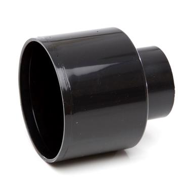 SO65 110MM POLYPIPE REDUCER TO WASTE REQUIRES BOSS ADAPTOR BLACK