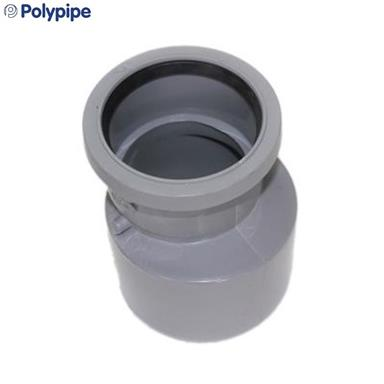 Polypipe ring seal soil and vent pipe reducer 110mm x 82mm for 80mm soil vent pipe