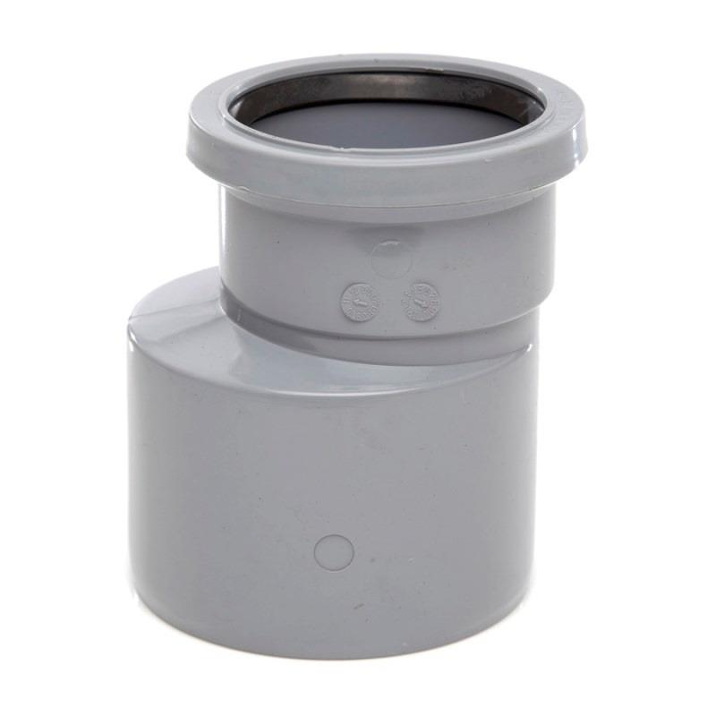 polypipe ring seal soil and vent pipe reducer 110mm x 82mm