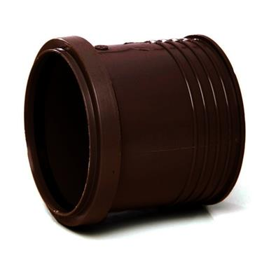 SD43 110MM POLYPIPE DRAIN CONNECTOR BROWN