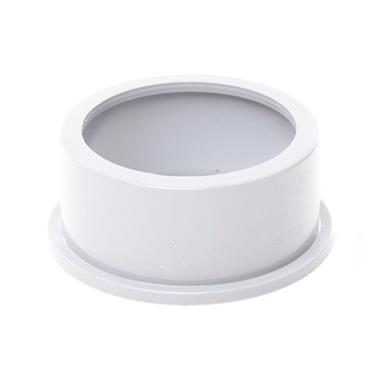 SW82 50MM POLYPIPE SOLVENT ADAPTOR WHITE