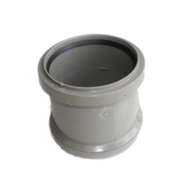 SH44 110MM POLYPIPE DOUBLE SOCKET SOLVENTGREY