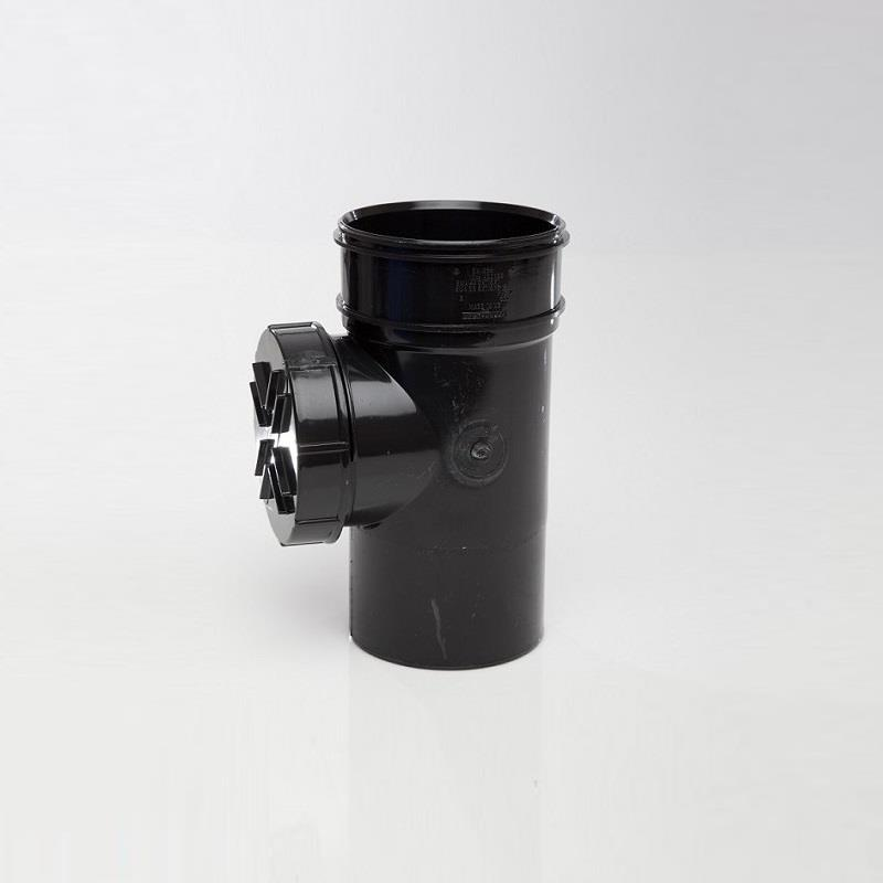 polypipe solvent soil and vent 110mm short access pipe. Black Bedroom Furniture Sets. Home Design Ideas