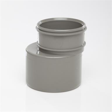 SWD69 160MMx110MM POLYPIPE REDUCER SOLVENTGREY