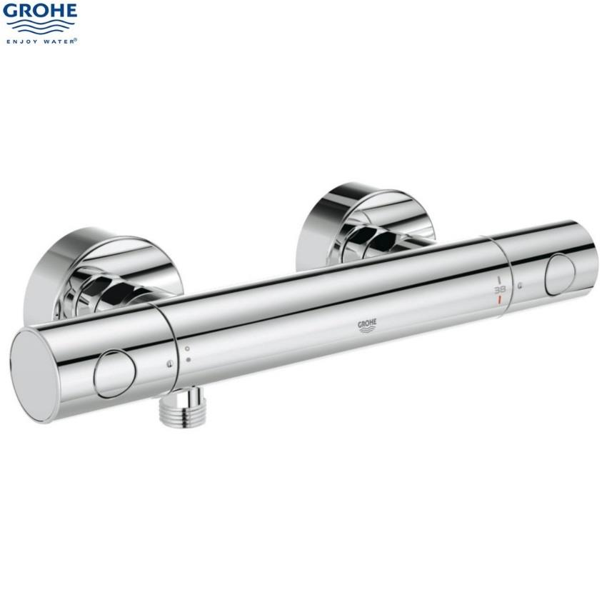 grohe grohtherm 1000 cosmopolitan 1 2 ev bar shower c w. Black Bedroom Furniture Sets. Home Design Ideas