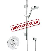 "GROHE Grohtherm 3000 Cosmopolitan 1/2"" BIV Shower Kit, Chrome Plated, 34278 000"