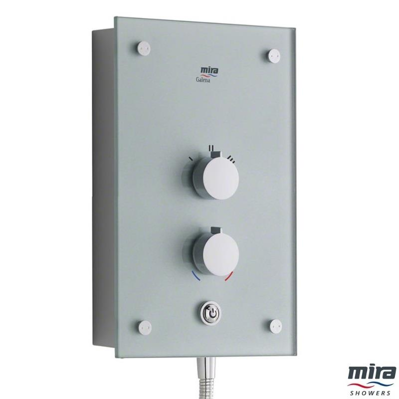 Mira Galena Thermostatic 9 8kw Electric Shower Silver