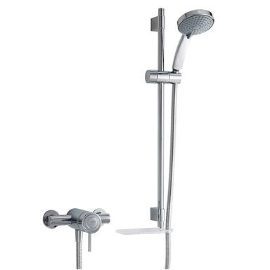 MIRA Element SLT Thermostatic EV Sequential Mixer Shower Kit Chrome 1.1656.011