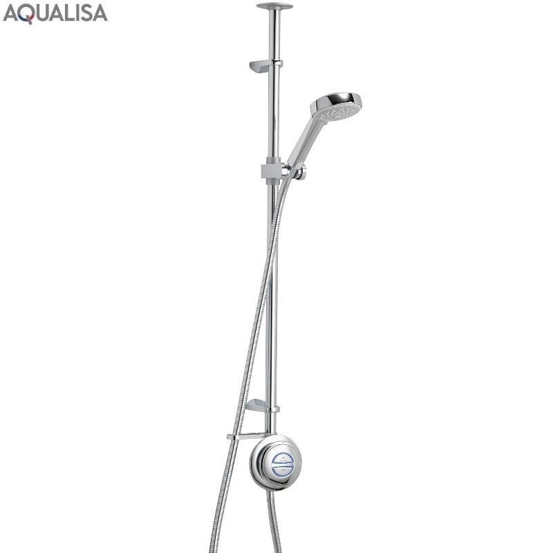 Aqualisa Quartz Exposed Digital Shower Kit Hp Combi