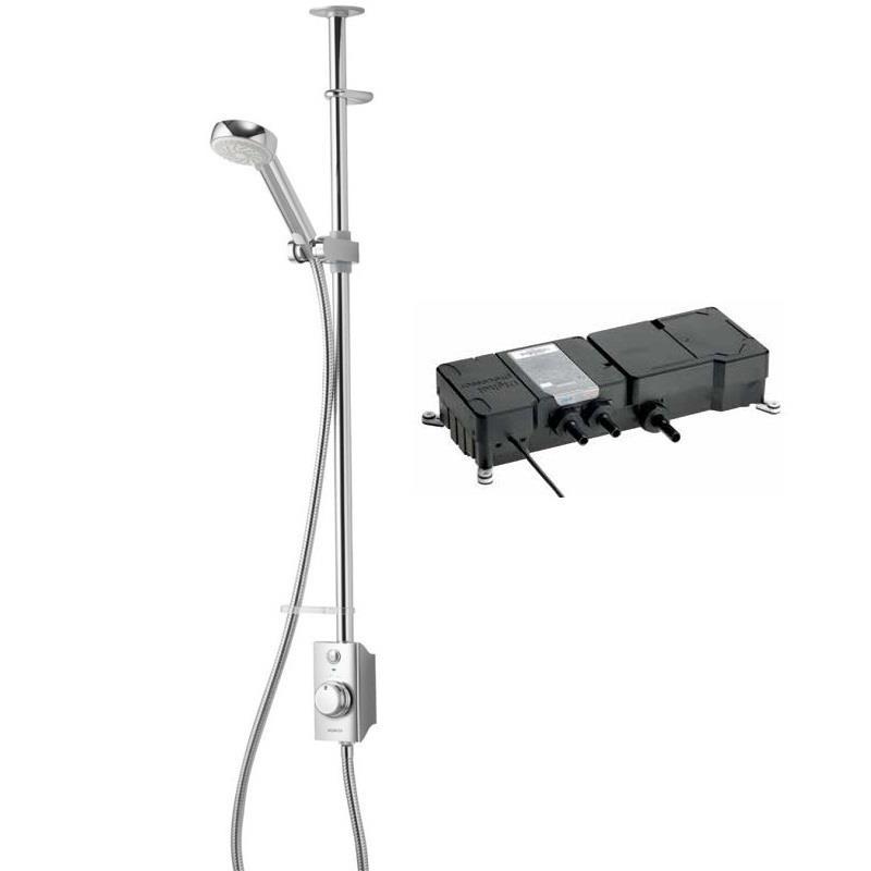 Aqualisa Visage Exposed Digital Shower Kit Gravity Pumped
