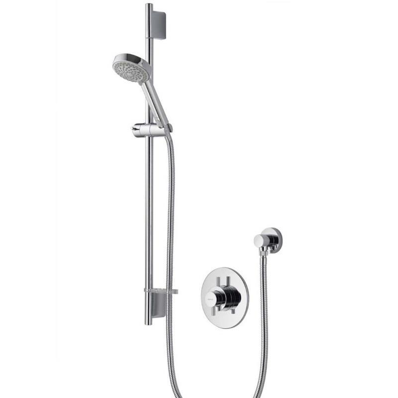 AQUALISA Aspire DL Thermostatic BIV Shower Kit, Chrome