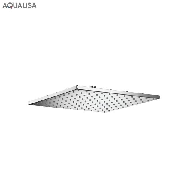 Aqualisa Options 300mm Thin Square Metal Fixed Shower Head
