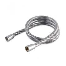 Hi-Flow Convoluted PVC Shower Hose 1.5m, Chrome, HAH