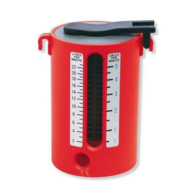ROTHENBERGER ABS Water Flow Measure Cup, Dual Scale, 67055