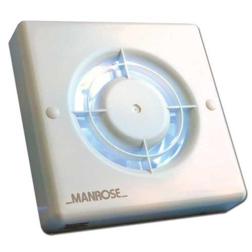 Manrose 100mm Bathroom Extractor Fan