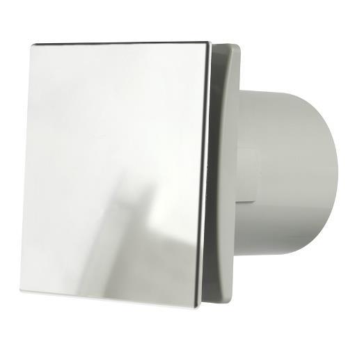 Manrose Rtdeco 100mm Bathroom Fan W Timerand Humidistat Chrome