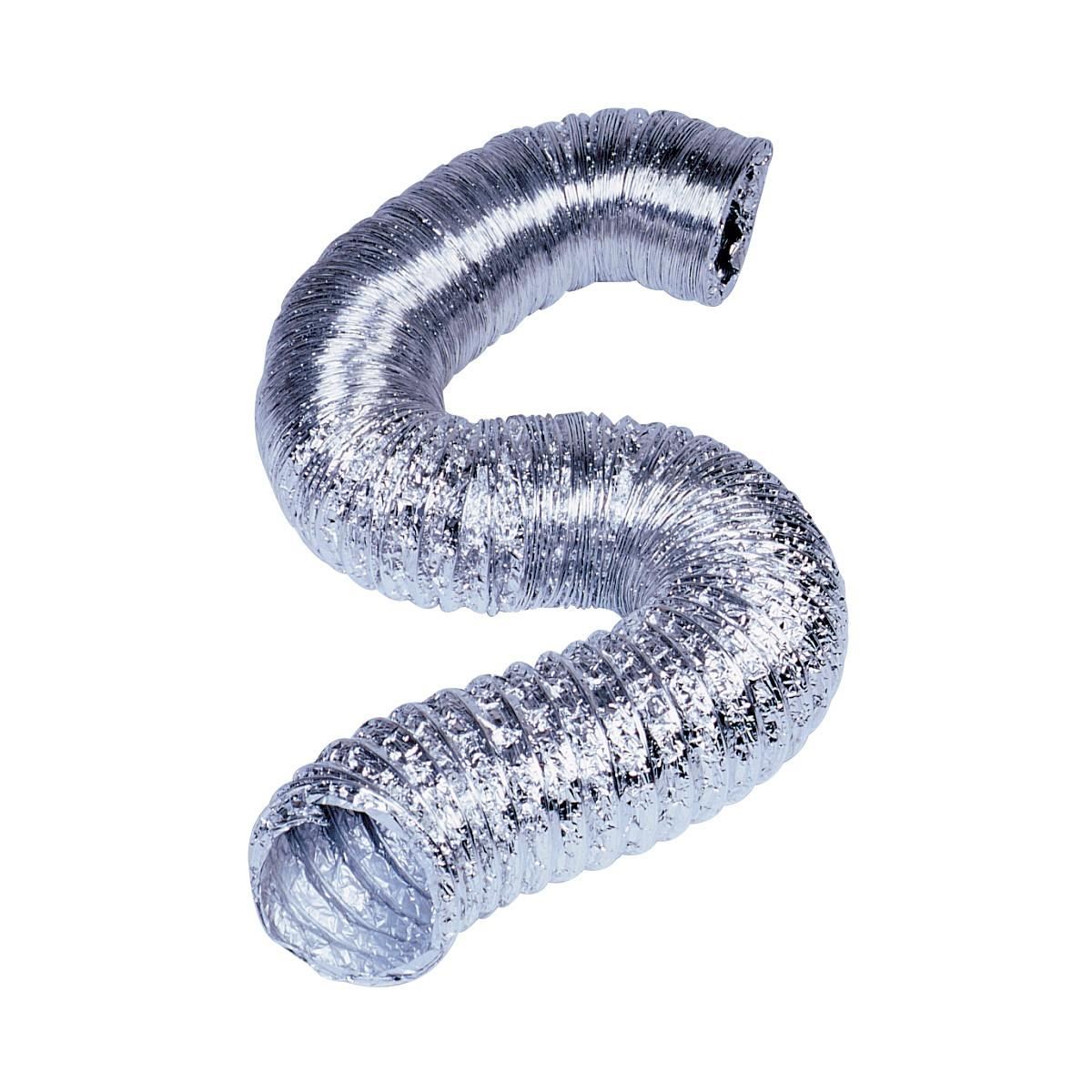 #4E5B7D MANROSE 100MMx3M ROUND FLEXIBLE DUCTING HOSE ALUMINIUM Most Effective 2425 Duct Hose Fittings pictures with 1200x1200 px on helpvideos.info - Air Conditioners, Air Coolers and more