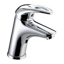 BRISTAN Java Single Lever Basin Mixer w/ Clicker Waste Chrome Plated J BAS C