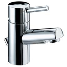 BRISTAN Prism Single Lever Basin Mixer w/ Pop-Up Waste Chrome Plated PM BAS C