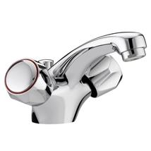 BRISTAN Value Club Monobloc Basin Mixer w/ Pop-Up Waste Chrome Plated VAC BAS C MT