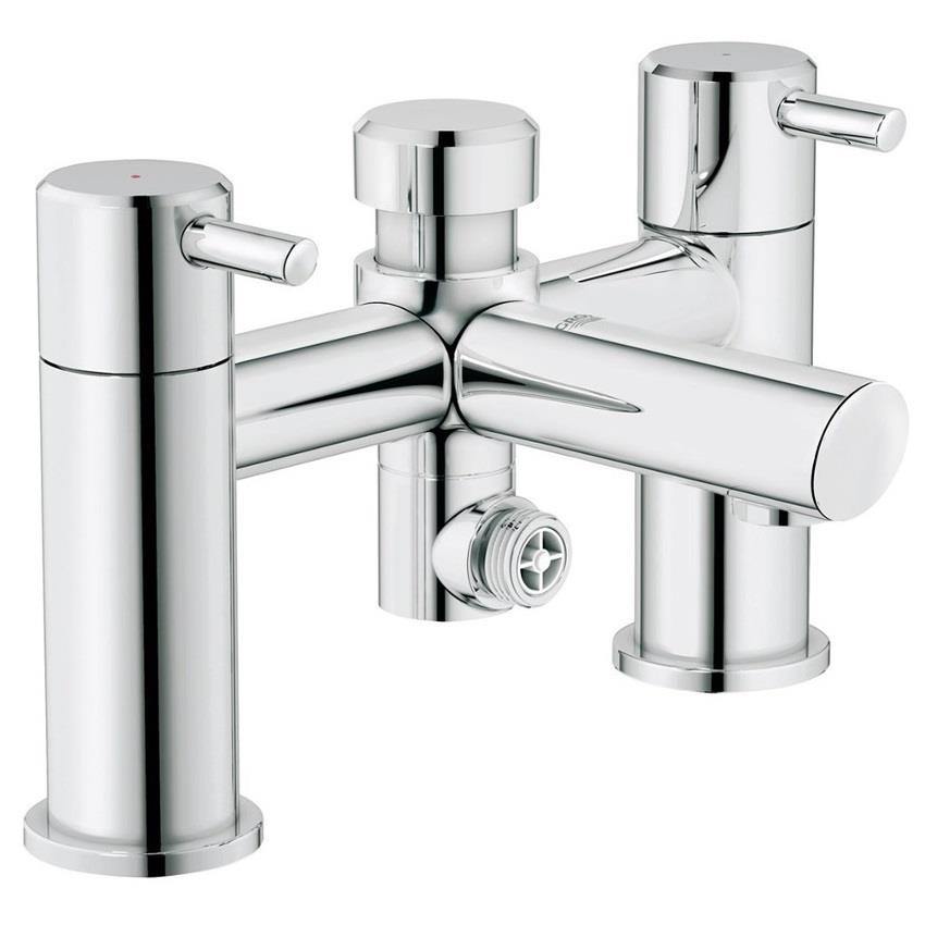 grohe concetto bath shower mixer w diverter lever. Black Bedroom Furniture Sets. Home Design Ideas