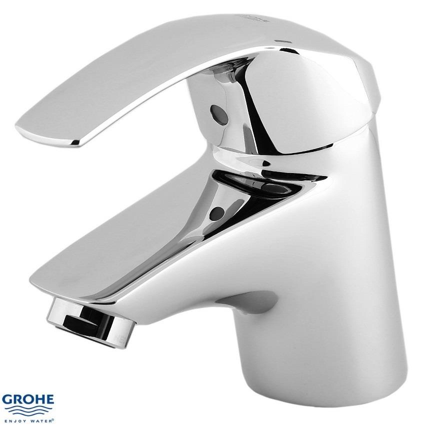 grohe eurosmart single lever basin mixer monobloc no. Black Bedroom Furniture Sets. Home Design Ideas