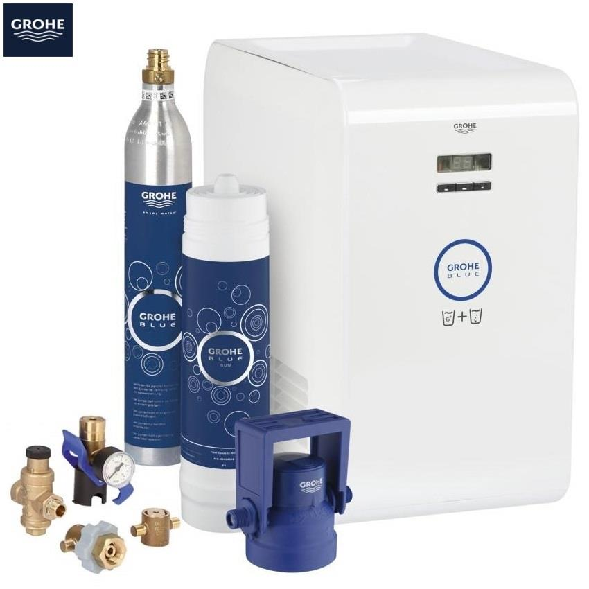 Grohe Blue K7 Chilled And Sparkling Filter Kitchen Mixer