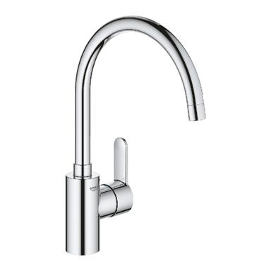 GROHE Eurostyle Cosmopolitan Monobloc Kitchen Sink Mixer High Arched Spout 33975 002