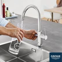GROHE Red Kitchen Taps