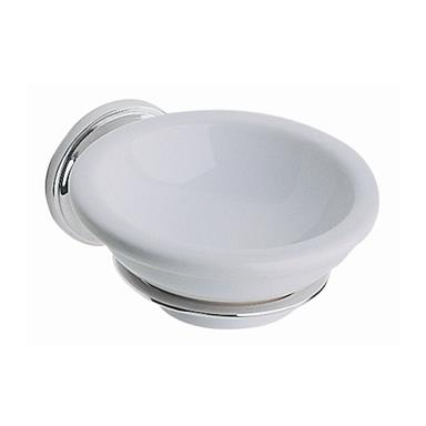 Heritage Clifton Soap Dish Chrome Plated, ACC04