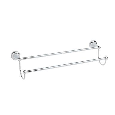 Heritage Clifton Double Towel Rail Chrome Plated, ACC07
