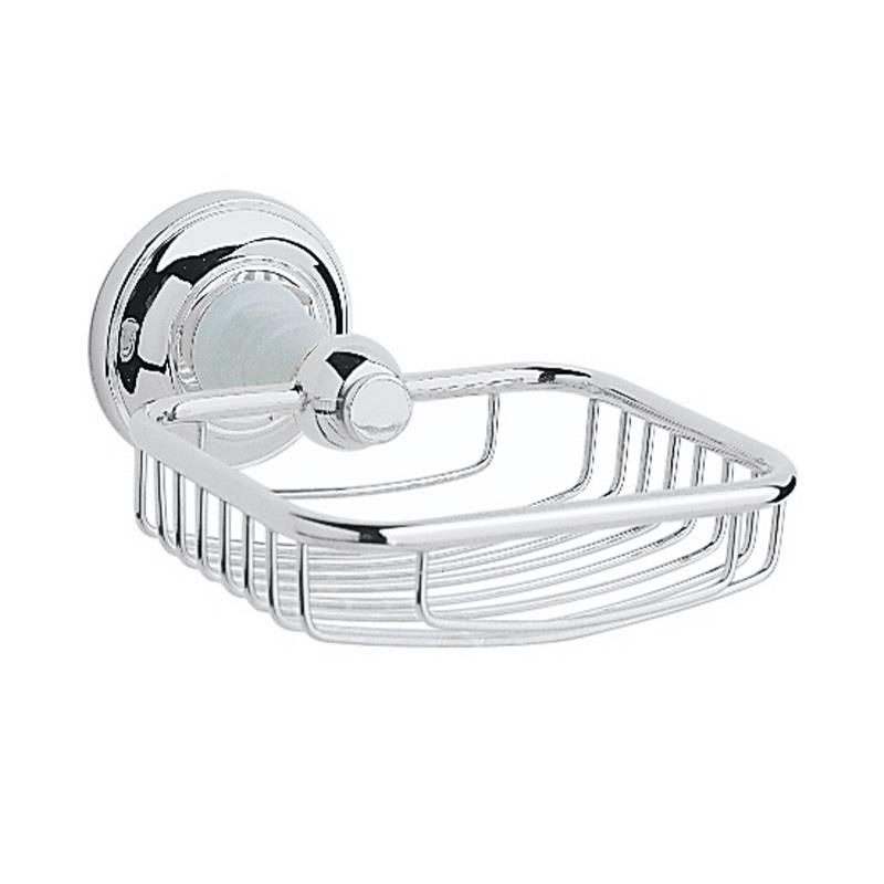 Heritage Bathroom Accessories: Heritage Clifton Soap Basket Chrome Plated, ACC14