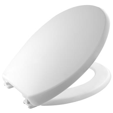CARRARA and MATTA Atlantic Spa Thermoplastic Toilet Seat and Cover, White, 108052000