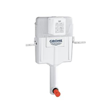 GROHE GD2 Concealed Cistern 6/3 ltr,Side/Back/Top Inlet,No Button,38661000/37489000