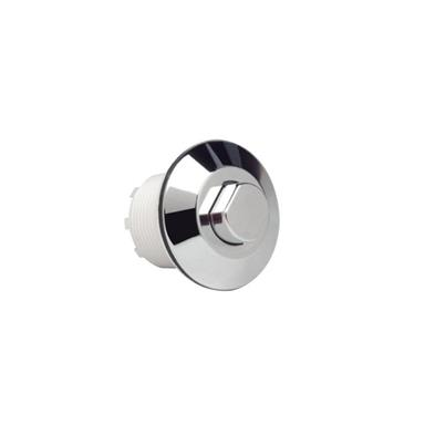GROHE Single Flush 63mm Round Air Button, Chrome Plated, 38488 000