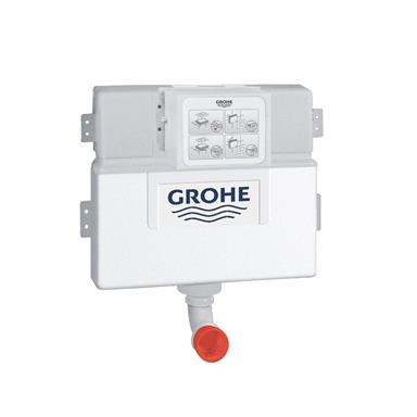 GROHE Flushin Cistern For WC, EcoJoy Technology, 38422000